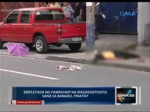 Saksi: Pawnshop employee na magdedeposito sana sa bangko, hinoldap at pinatay sa Makati