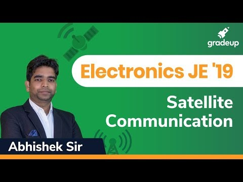 Communication Engineering | RRB JE Exams 2019 | Satellite Communication