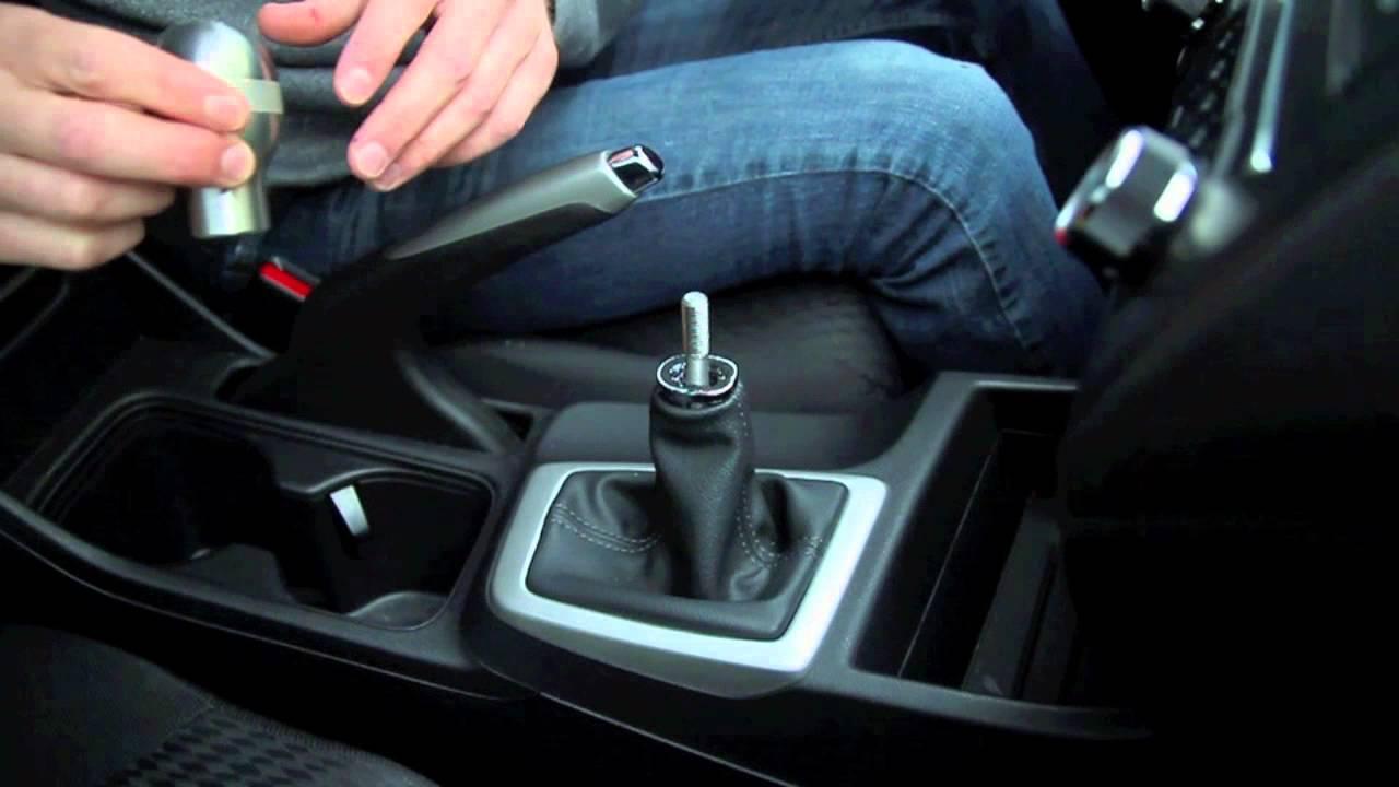 Honda civic 2014 lx r18 password jdm shift knob install - YouTube