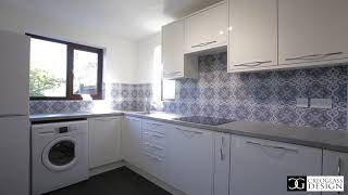 Retro  Kitchen Splashbacks - by CreoGlass UK