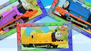 True Colors for Thomas, James and Samson! Play and Learn with Thomas and Friends