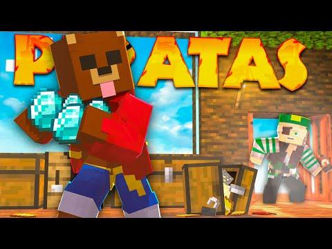SE DEJÓ LA PUERTA ABIERTA XDDD | Minecraft Piratas #5