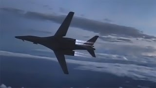Inflight Refueling • KC-135 Stratotanker To B-1B Lancer