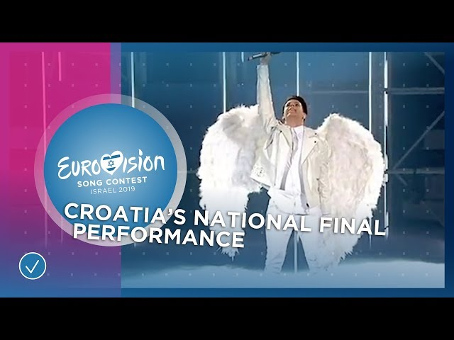 Roko - The Dream - Croatia 🇭🇷 - National Final Performance - Eurovision 2019