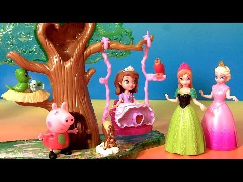 Sofia The First Forest Playset Play Doh Peppa Pig Disney