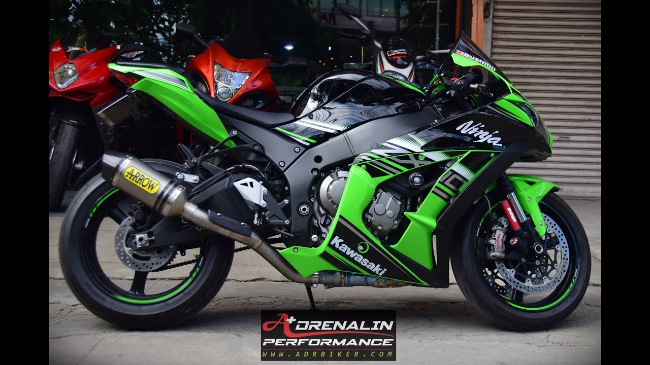 Arrow Zx10r 2016 Racetech 3 4 System Youtube