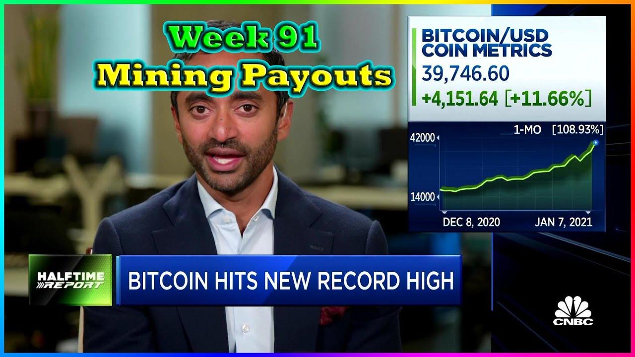 Week 91 | Mining Payouts 1/10/21