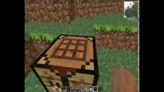 tutorial minecraft como fazer pistão e como usar a gosma de slime !