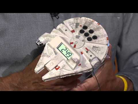Star Wars Hero Vehicle Night Glow Clock With Jacque Gonzales