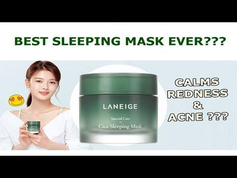 Hypoallergenic Cica Sleeping Mask by Laneige #6
