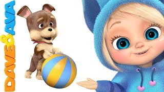 🐶Kids Songs and Nursery Rhymes | Popular Baby Songs from Dave and Ava 🐶