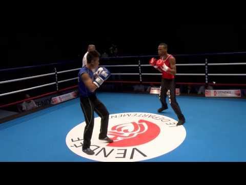 SAVATE boxe française - Finale Monde Combat - H56