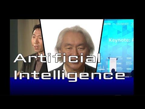 Artificial Intelligence Compilation #2 (Andrew Ng, Michio Kaku, Fei Fei Li)