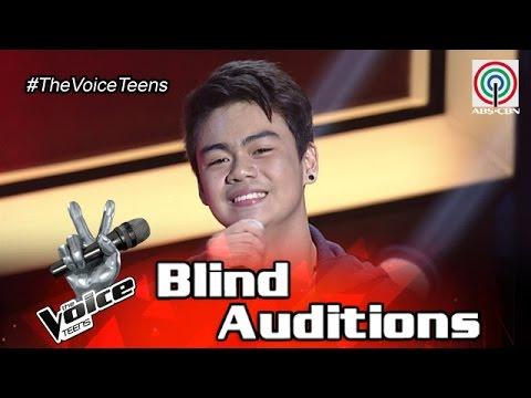 The Voice Teens Philippines Blind Audition: Paul Gatdula - Kisapmata