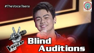The Voice Teens Philippines Blind Audition: Paul Gatdula - Kisapmata