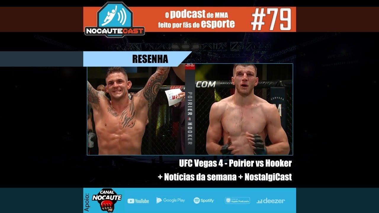 NocauteCast #79 - Resenha UFC Vegas + Notícias da Semana