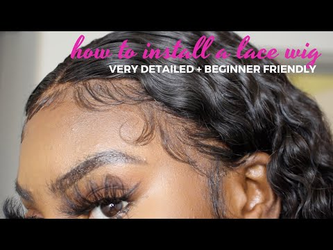 HOW TO INSTALL A LACE FRONT WIG | Beginner Friendly | ArrogantTae Inspired Baby Hair | StateofDallas