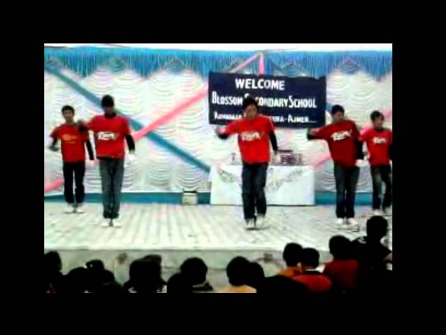 Hip Hop Dance | Blossam School | Suraj Thapa | Performed By Dark Siders Group