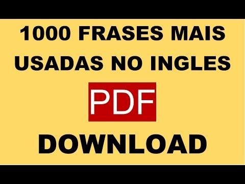 1000 Frases Mais Usadas Em Ingles Pdf