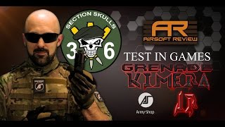 TEST IN GAMES KIMERA JR [ ARMY-SHOP ] / AIRSOFT REVIEW