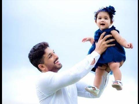 Image result for allu arjun daughter