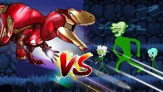 Dinosaurs Battle | SUPER HERO Dinosaurs VS Zombie