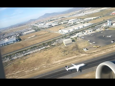 Despegue De Tijuana VOLARIS Airbus319 Engine Sound! Take Off From Tijuana México