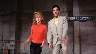 Ann-Margret hot dance with Elvis Presley in Viva Las Vegas (4K)