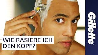Den Kopf Rasieren - Ein Tutorial mit Tipps zur Nassrasur | Gillette ProShield