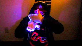 AYO? Mimik - Oasis Glove Set Tutting Glove Light Show [EmazingLights.com]