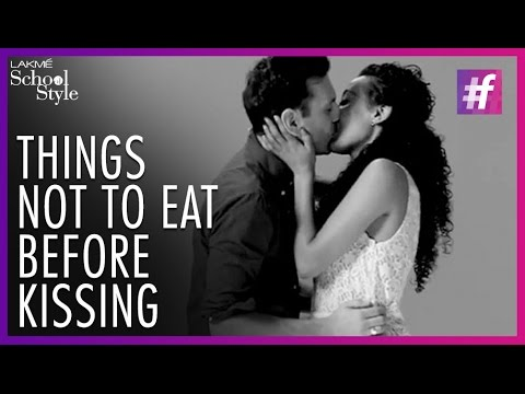 Kissing before dating