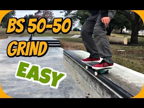 Skate Hacks: How to Backside 50-50 Easier