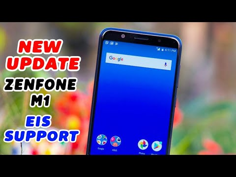 Asus Zenfone Max Pro M1 November Update   Android P, EIS , Live Wallpaper   New Features - YouTube