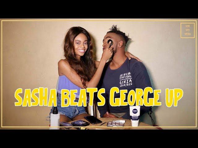 Sasha Beats George Up!