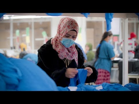 A new chance at employment for Syrian refugees in Jordan