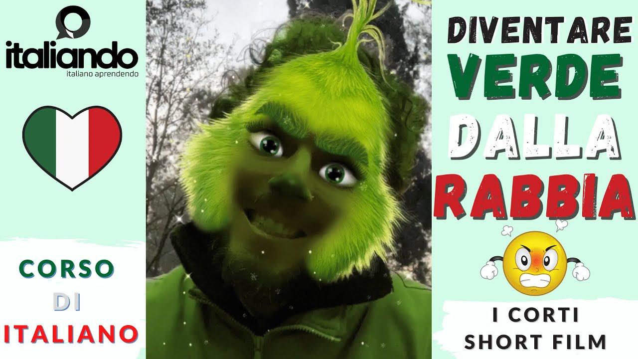 Diventare Verde dalla Rabbia - Espressione idiomatica italiana tipica - Corso di italiano online