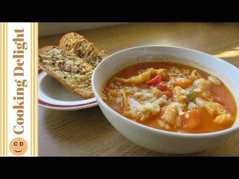 Minestrone Soup (Vegan)