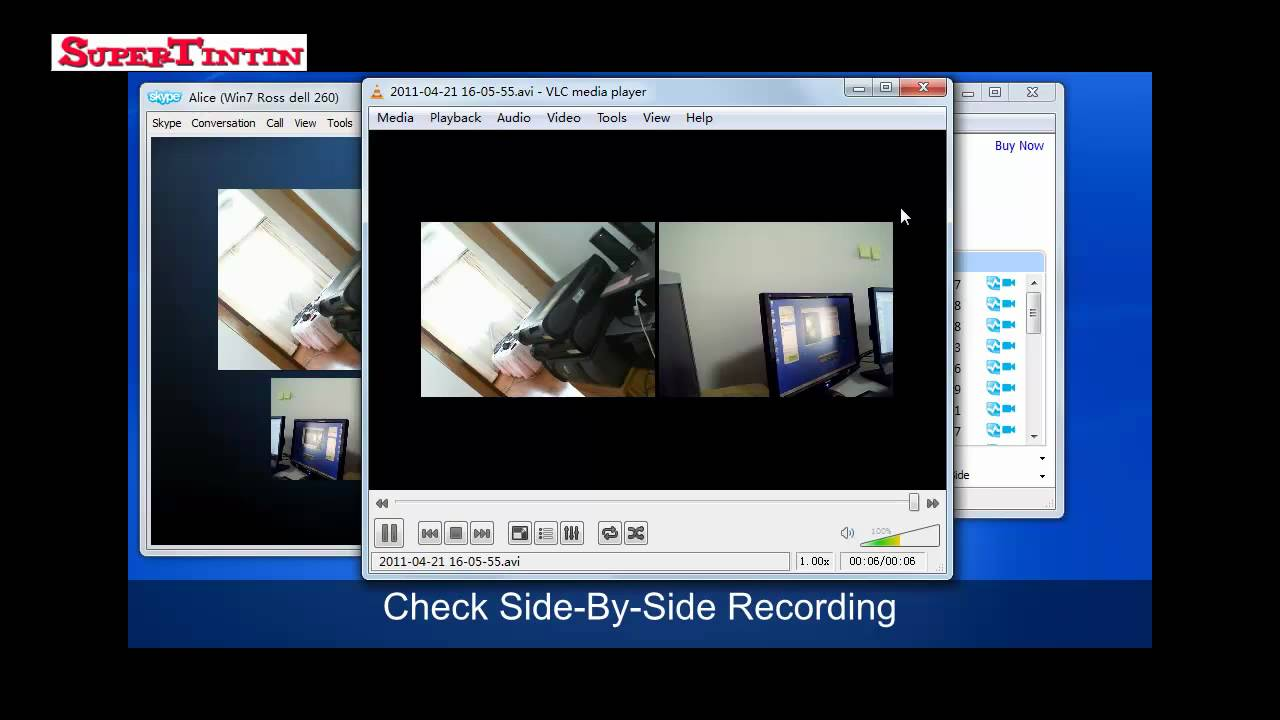 How to record video in Skype 74