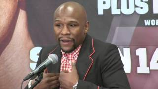 FLOYD MAYWEATHER RIPS 'DISLOYAL' OSCAR DE LA HOYA OVER CANELO (CONTAINS STRONG LANGUAGE)