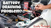 EASILY Identify Vehicle Battery Draining Problems(Parasitic)