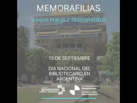 Día Nacional del bibliotecario en Argentina