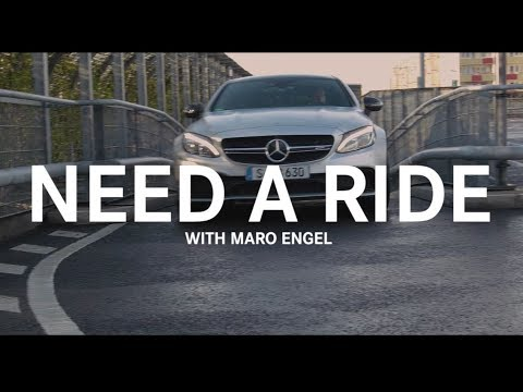 a4b1857471 Maro Engel NEED A RIDE Teaser - Berlin. Mercedes-AMG