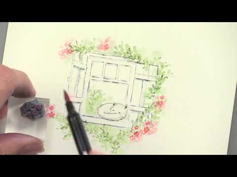 Art Impressions: Watercolor Stamps 3 - Paper Wishes Weekly Webisodes