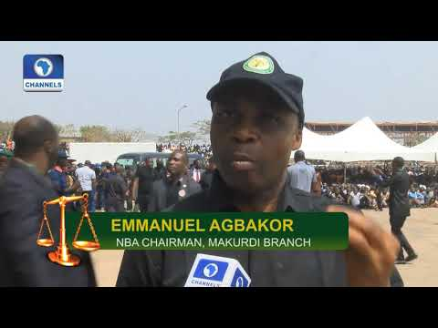 NBA Supports Benue Govt On Anti-Grazing Law |Law Weekly|