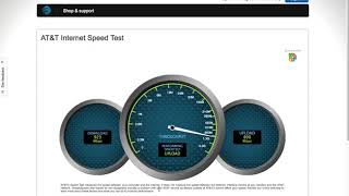 AT&T Fiber Speed Test