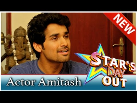 Actor Amitash in Stars Day Out (02/08/2014) - Part 2