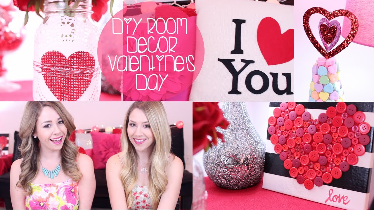 Diy Room Decor Valentine S Day More Youtube
