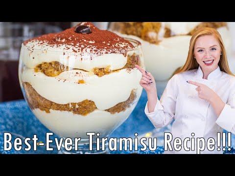 Classic Tiramisu Parfaits Recipe