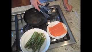 Cooking With Soffritto | Salmon & Asparagus