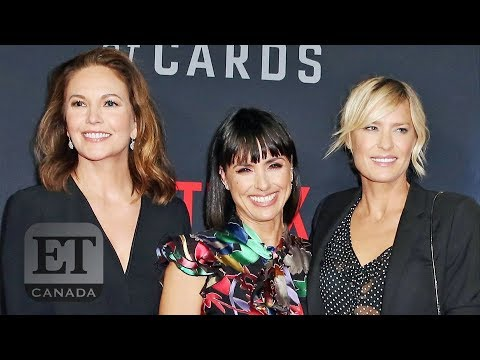 Robin Wright And Cast Tease 'House Of Cards' S6